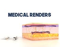 Medical renders