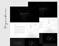 Signature: Flat Template Design