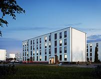 Multi-family housing estate in Wieliszew