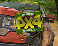 4x4 off road jeep driving game HUD