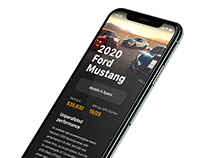 Ford Mustang IOS App