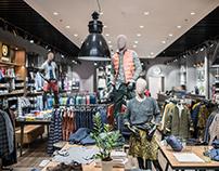LERROS — Освещение для магазина одежды