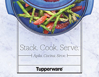 Stack Cooker Recipe Book | Tupperware