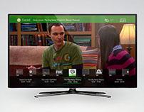 Interfaz para un sistema de TV