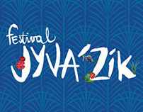 Jyva'Zik Festival - Bracelet, badge, plan, press, ...