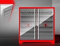 Refregerator - Coca-Cola / Imbera