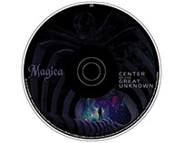 Magica - music CD Album & folded case design for band
