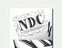 NDC · Lettering