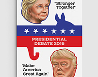 Presidential Debate Cover