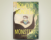 Bonjour Monsieur Monster!: Children's Book Illustration