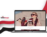 HotelShops Concept Redesign