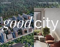Главная страница ЖК GOOD CITY