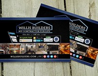 Willis Builders Inc Digital & Print Branding