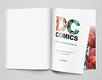 DC COMICS: Encyclopedia Of Characters - REDESIGN
