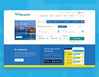 Cebu Pacific Air Website UI Improvements