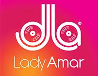 DJ Lady Amar's logo