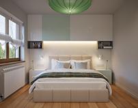 Bedroom - interior lighting schemes