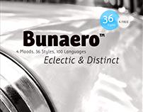 Bunaero™ Pro Type Family