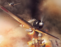 Pearl Harbor - Zero - History of War cover illustration