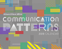 Communication Patterns calendar & notebook