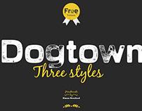 Free* Dogtown Font