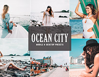 Free Ocean City Mobile & Desktop Lightroom Presets