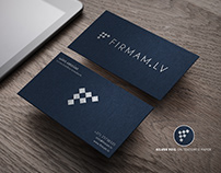 Business Card design for Firmam.lv