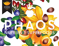 Phaos Nutrient Superfoods (Corporate identity)