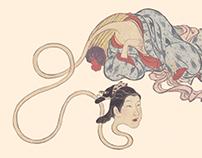YOKAI · Monstruos y fantasmas en Japón