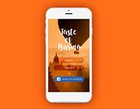 Taste of Burma - Burmese Cuisine Recipe App