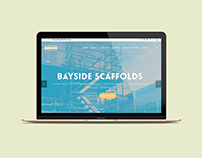 Bayside Scaffolds Website