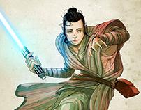 Rey - Star Wars - Fan Art