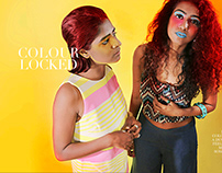 Colour Locked: An Editorial Photoshoot