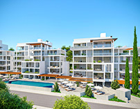 Flats for sale in the city centre of Paphos
