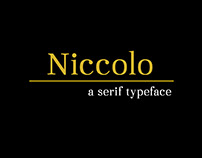 Niccolo Typeface