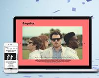 Rediseño web Esquire