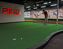 PING Putting Lab Wall Graphic