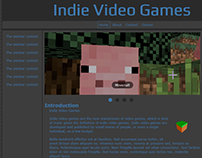 Indie Video Game Project