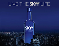 SKYY VODKA - Campaign and Activation