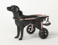 Pet wheelchair