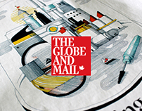 Illustration pour The Globe and Mail