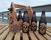 El Capitán Brewing Co - Branding and Packaging