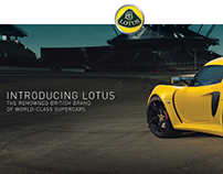 Lotus Kuwait - Website Design