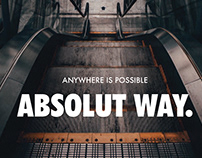 ABSOLUT WAY.