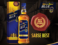 Officer's Choice Blue Whisky