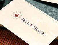Justin Hiebert Monogram Logo
