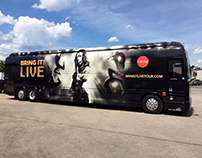 BringIt! Live bus wrap