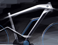 BMW Electric Bike design inspired by BMW gran lusso