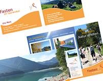 Printwerbung & Landingpage
