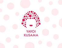 Yayoi Kusama Branding